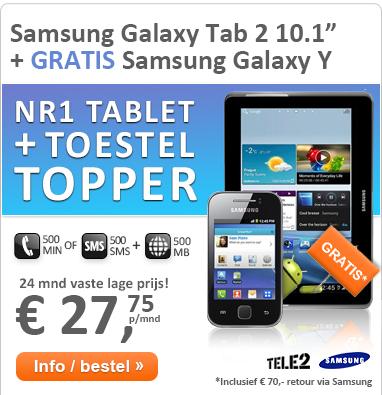 """Superstunt: Galaxy Tab 2 10.1"""" + Galaxy Y!"""